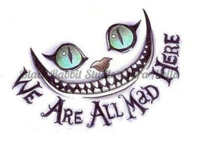Cheshire Cat Tattoo Ideas Pictures (91)
