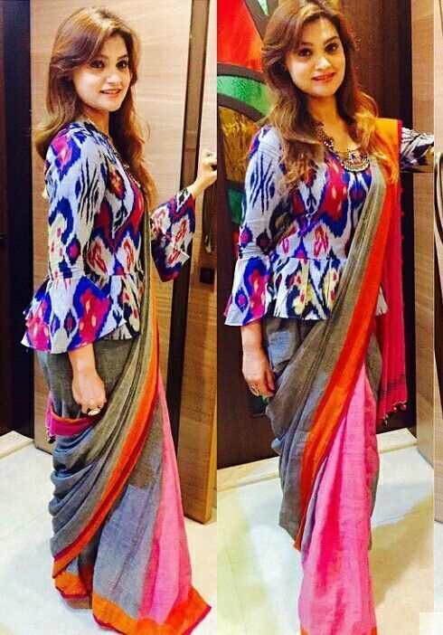 Different Saree Wearing Style (103)
