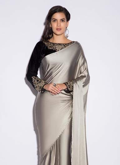 Different Saree Wearing Style (108)