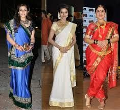 Different Saree Wearing Style (111)