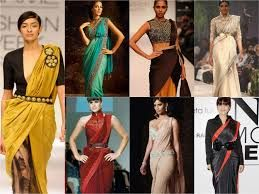 Different Saree Wearing Style (115)