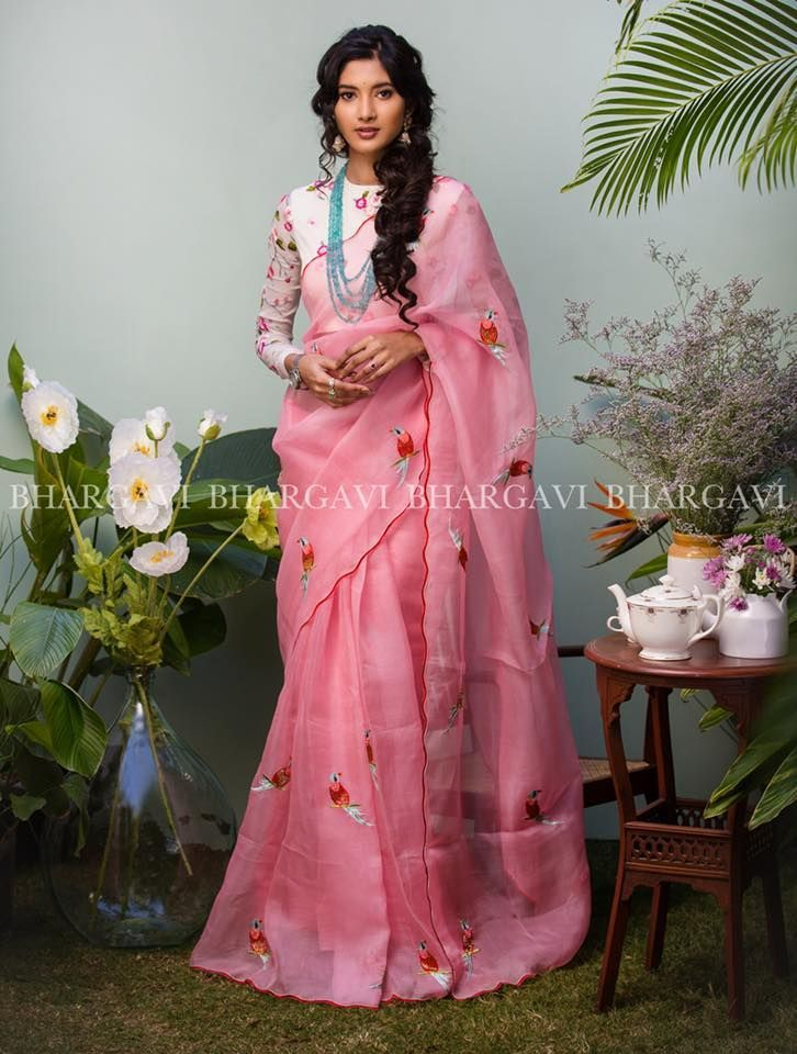 Different Saree Wearing Style (118)