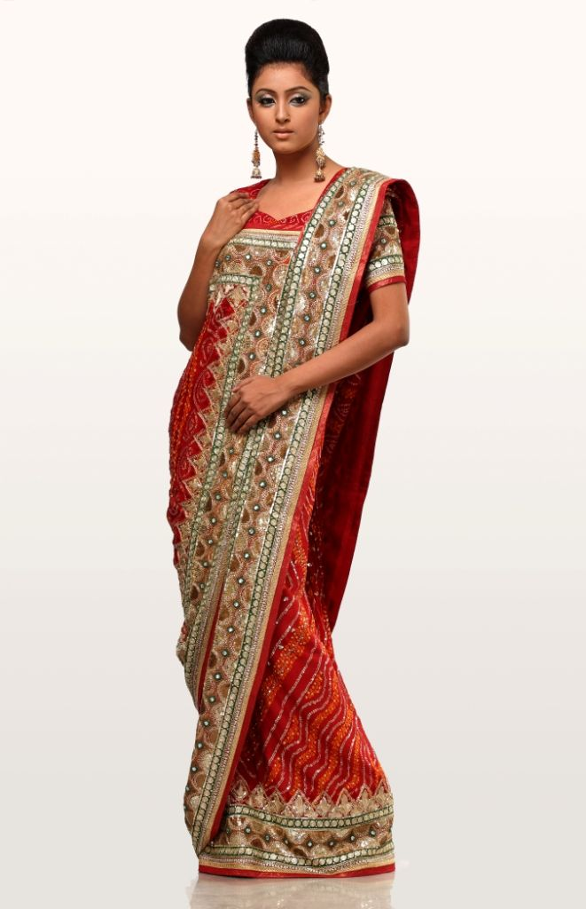 Different Saree Wearing Style (122)