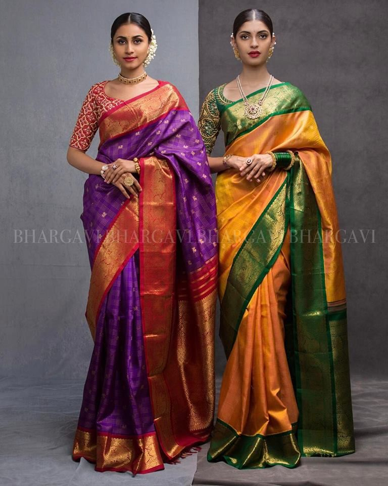 Different Saree Wearing Style (124)