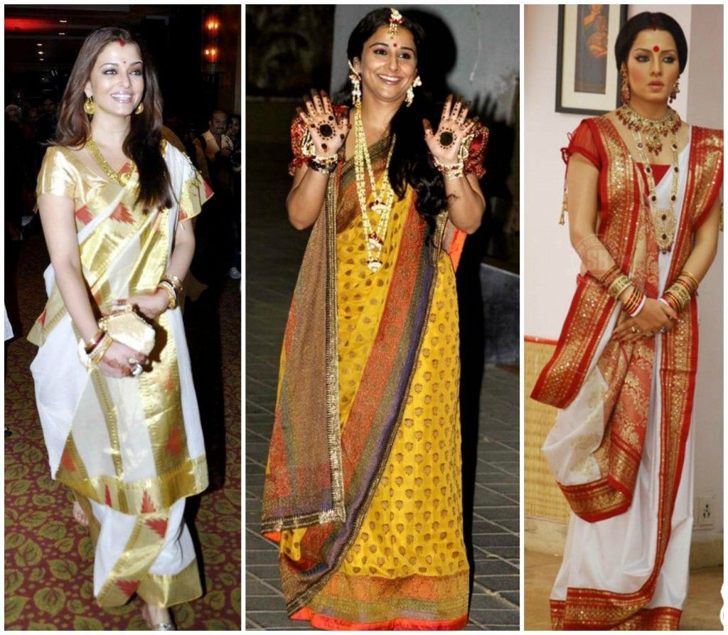 Different Saree Wearing Style (126)