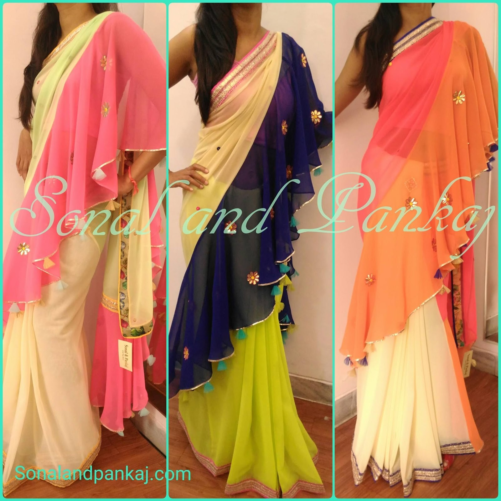 Different Saree Wearing Style (129)