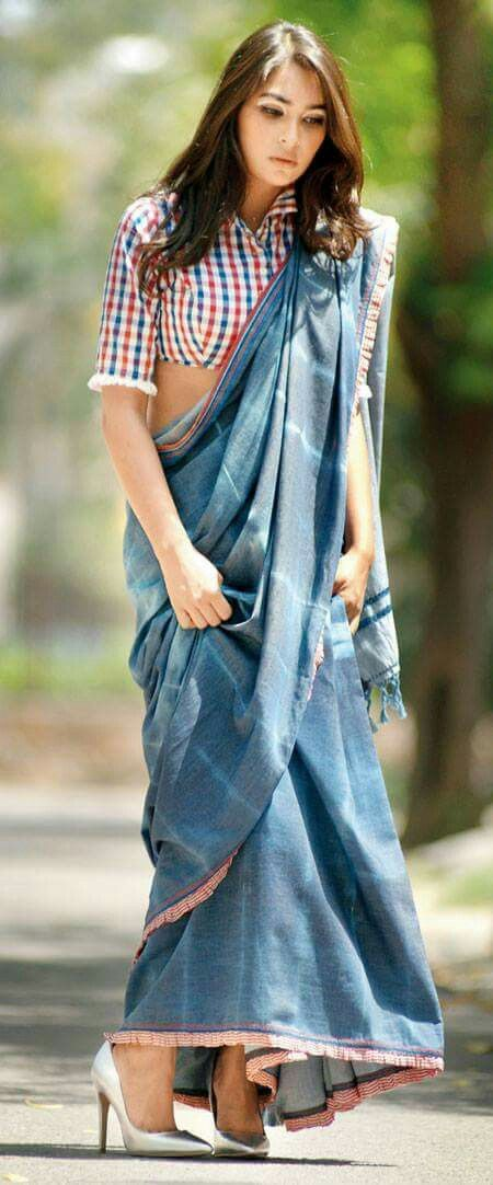 Different Saree Wearing Style (130)