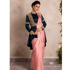 Different Saree Wearing Style (131)