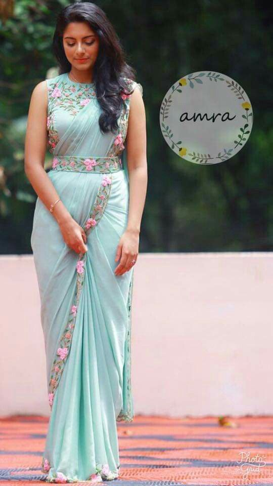 Different Saree Wearing Style (145)
