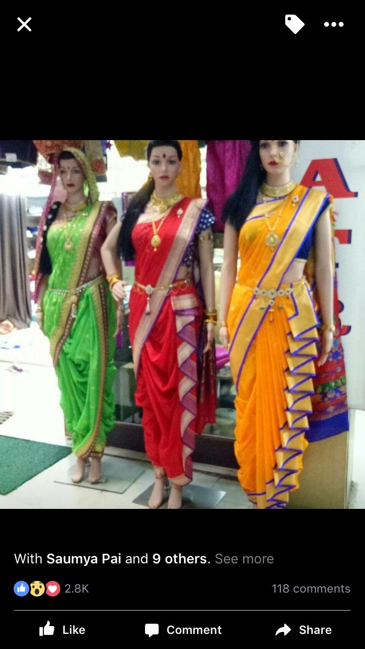 Different Saree Wearing Style (149)