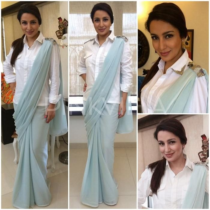 Different Saree Wearing Style (154)