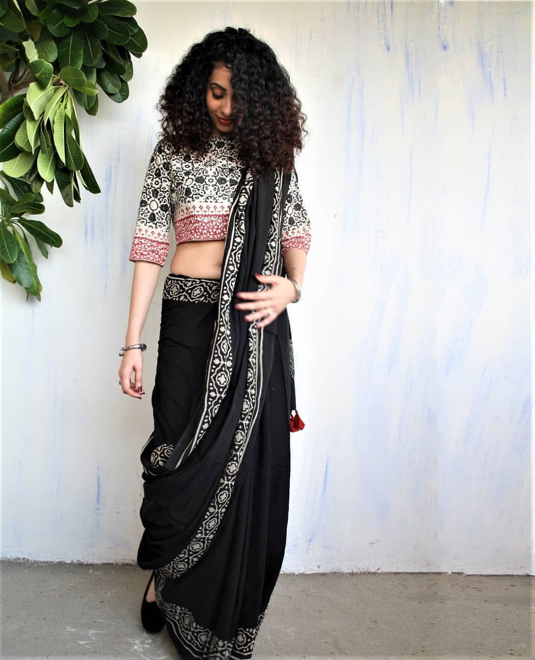 Different Saree Wearing Style (155)