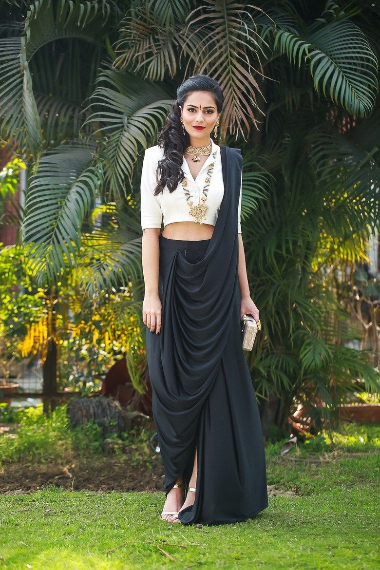 Different Saree Wearing Style (16)