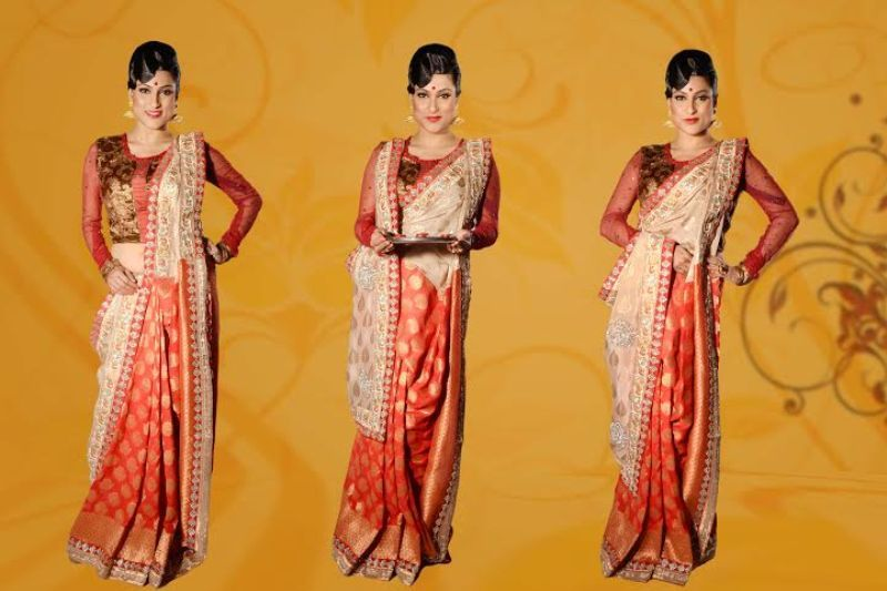 Different Saree Wearing Style (169)