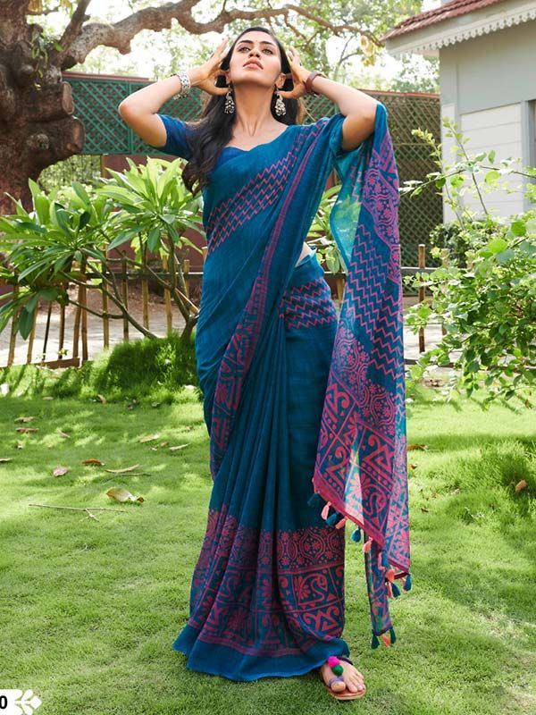 Different Saree Wearing Style (170)
