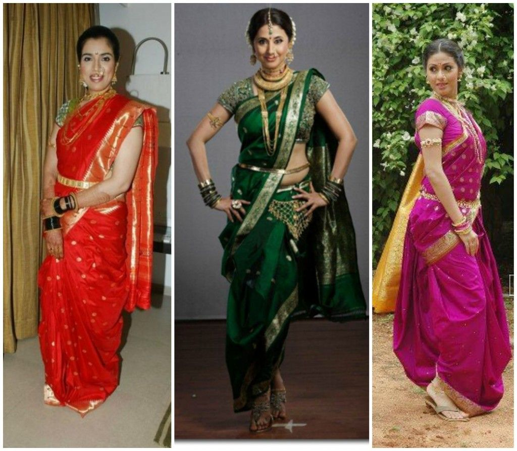 Different Saree Wearing Style (173)