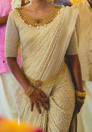 Different Saree Wearing Style (174)