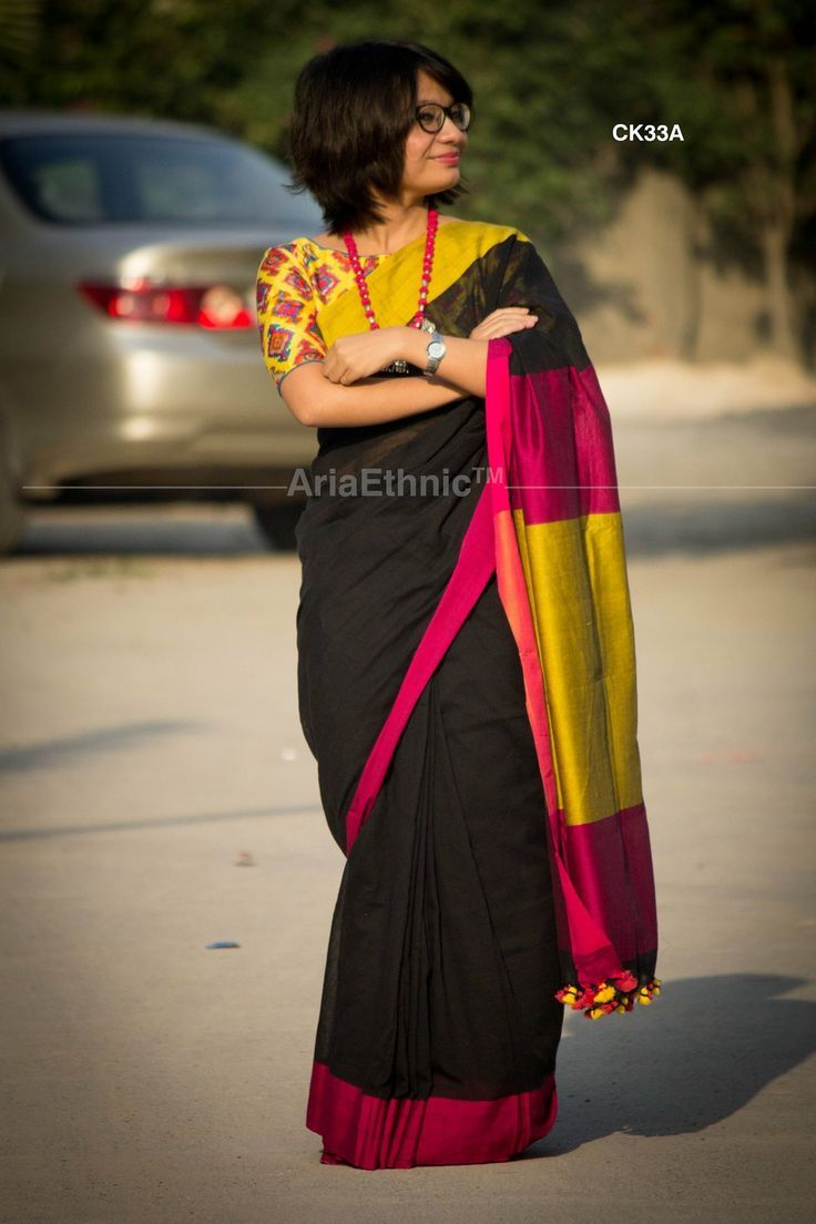Different Saree Wearing Style (184)