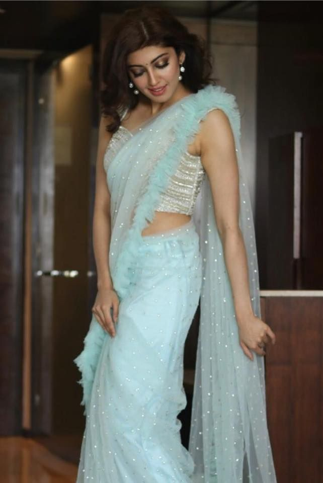 Different Saree Wearing Style (185)