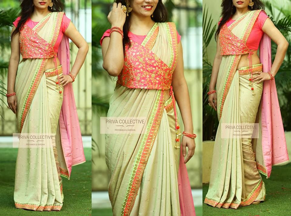 Different Saree Wearing Style (189)