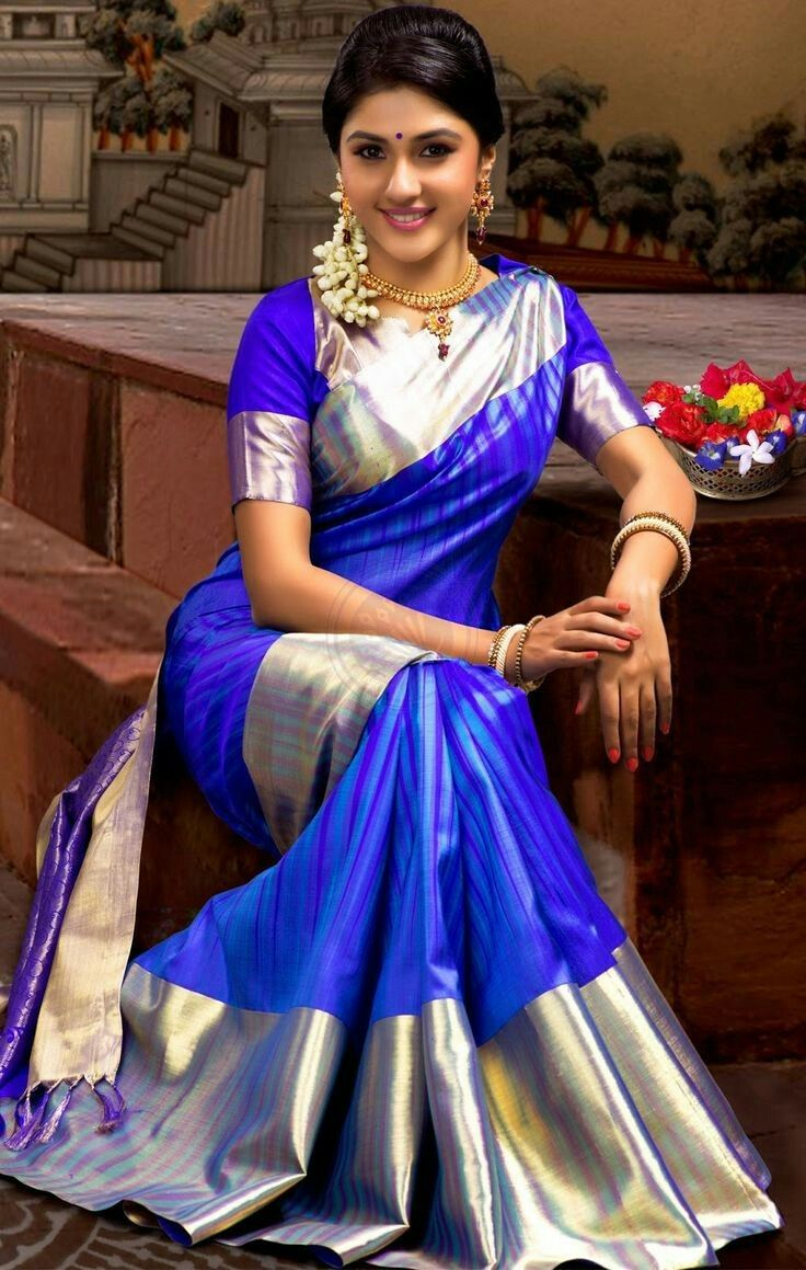 Different Saree Wearing Style (19)