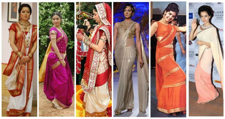 Different Saree Wearing Style (190)