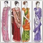 Different Saree Wearing Style (191)