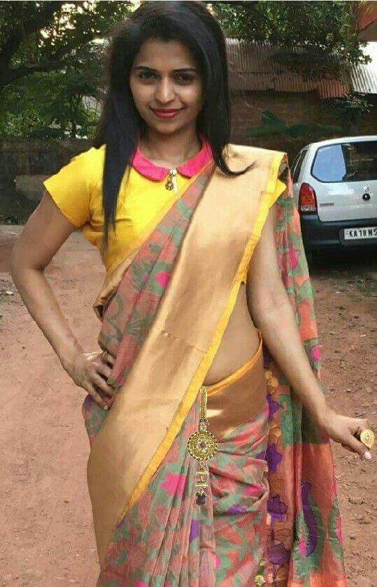 Different Saree Wearing Style (194)