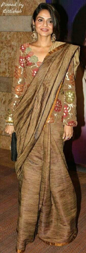 Different Saree Wearing Style (198)