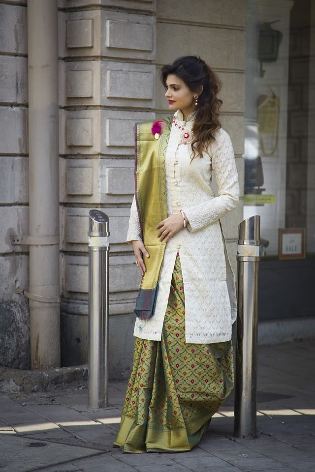 Different Saree Wearing Style (202)