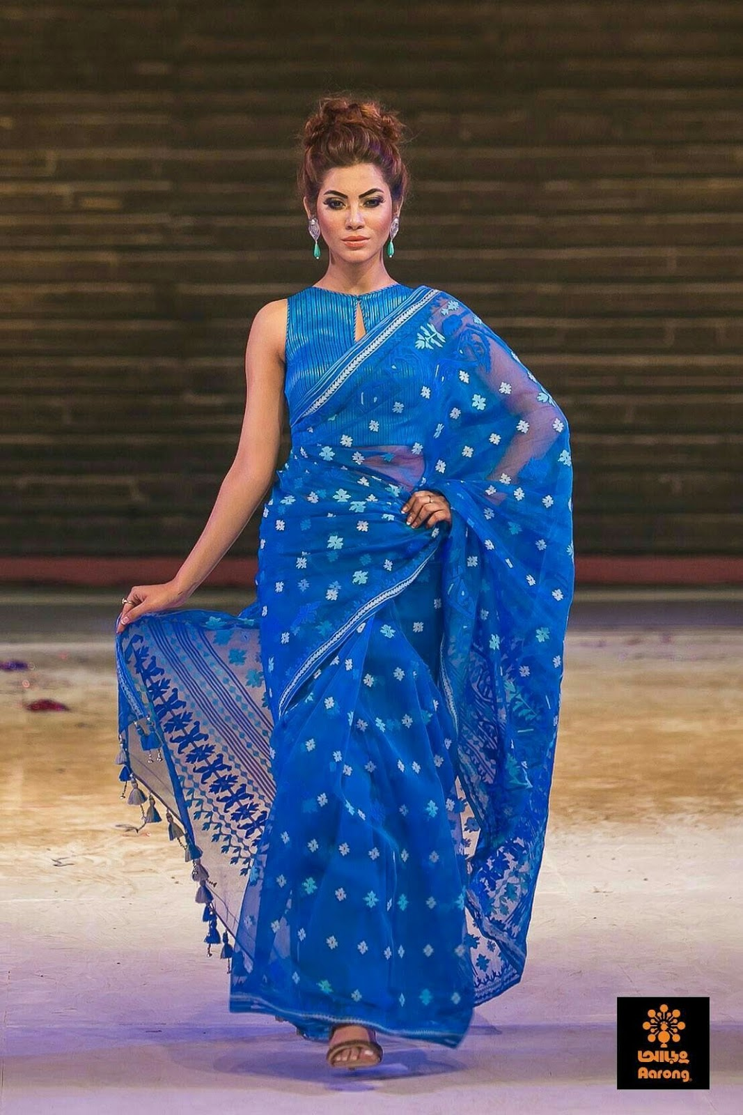 Different Saree Wearing Style (204)