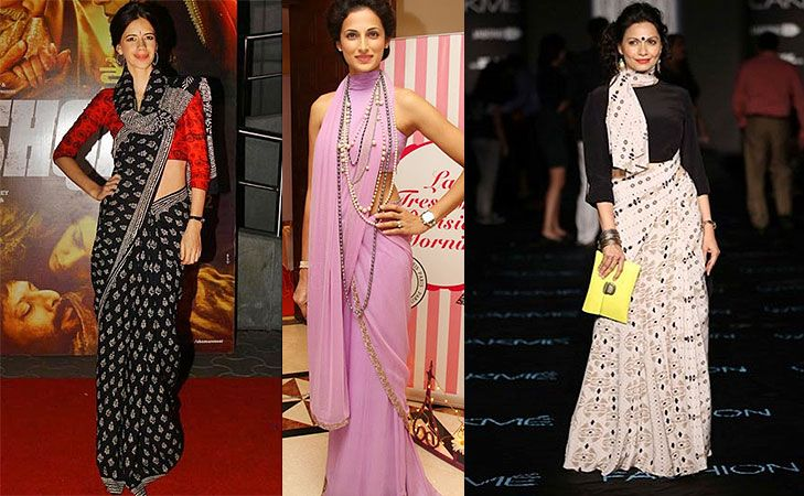 Different Saree Wearing Style (206)