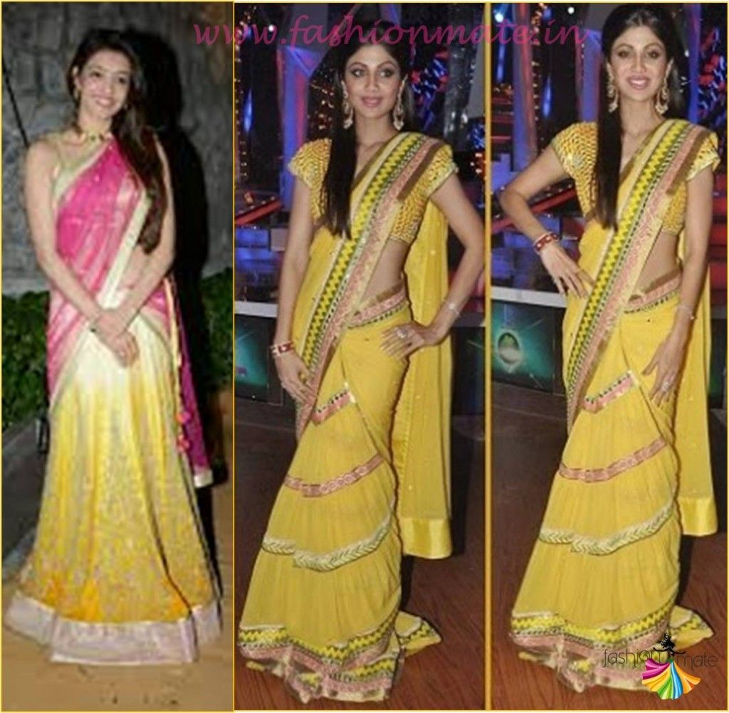 Different Saree Wearing Style (207)