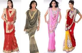 Different Saree Wearing Style (211)