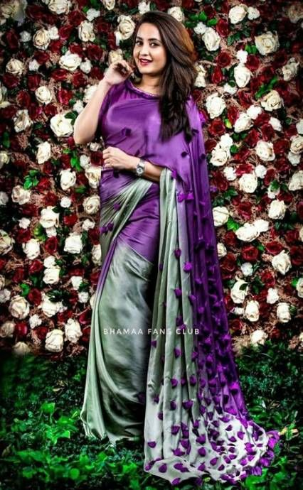 Different Saree Wearing Style (215)
