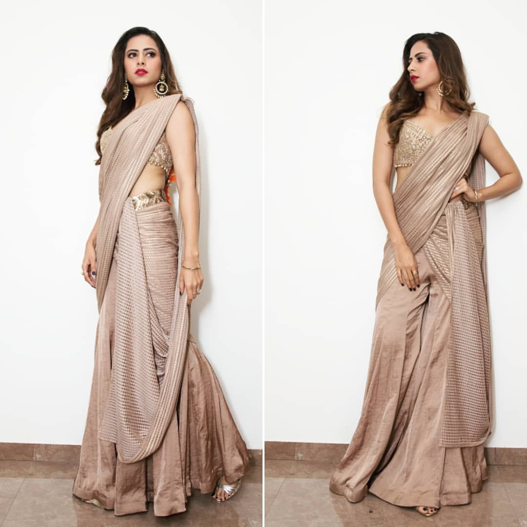 Different Saree Wearing Style (218)