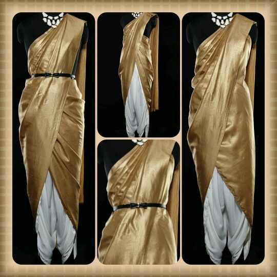 Different Saree Wearing Style (224)