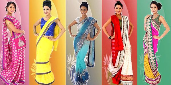 Different Saree Wearing Style (225)