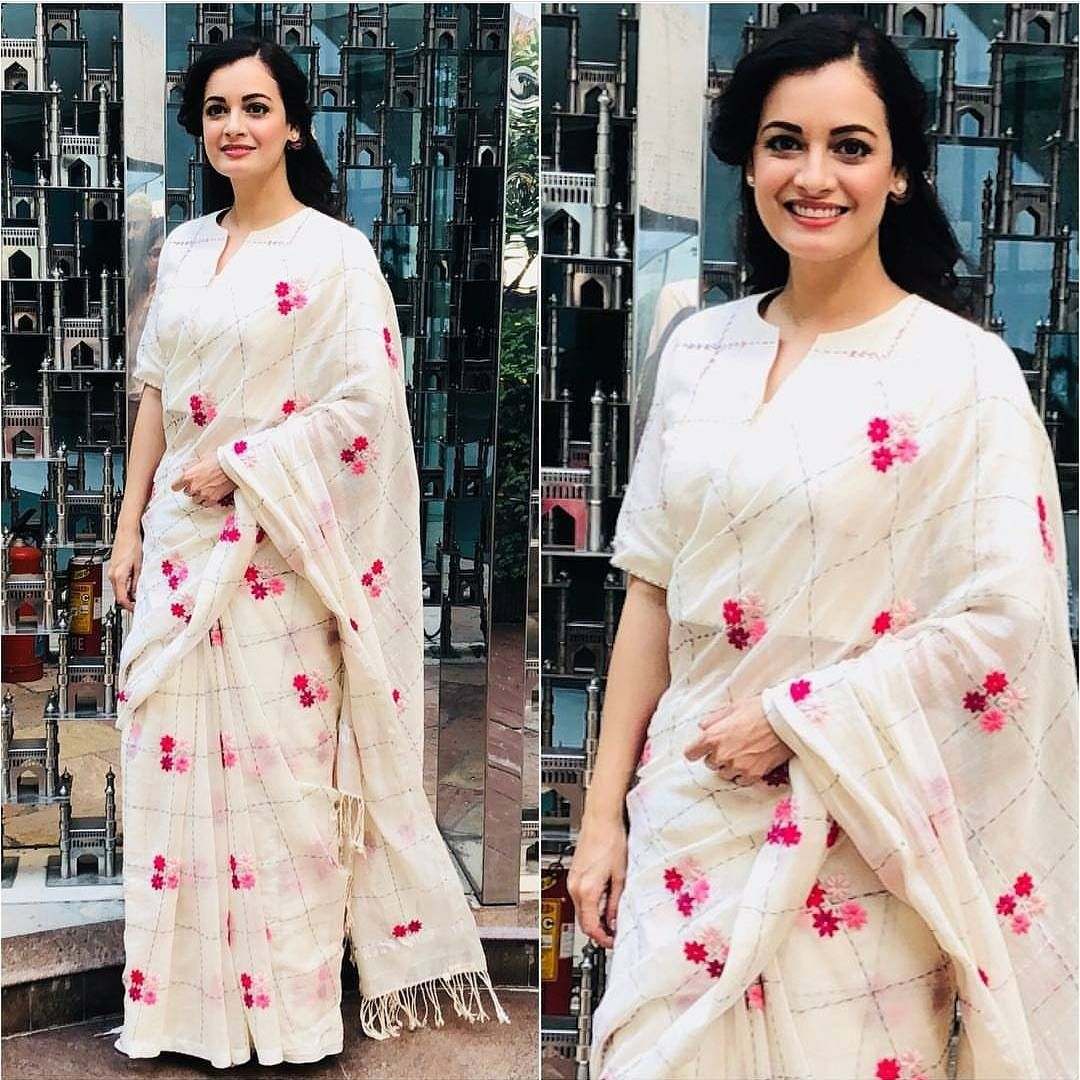 Different Saree Wearing Style (228)