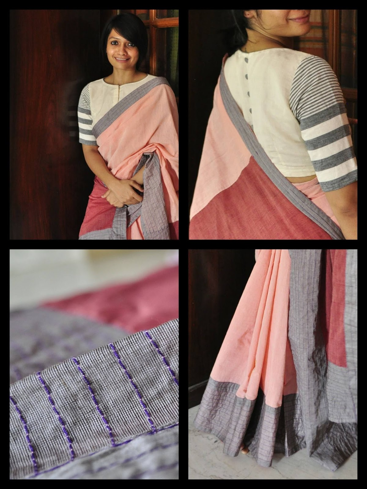 Different Saree Wearing Style (233)
