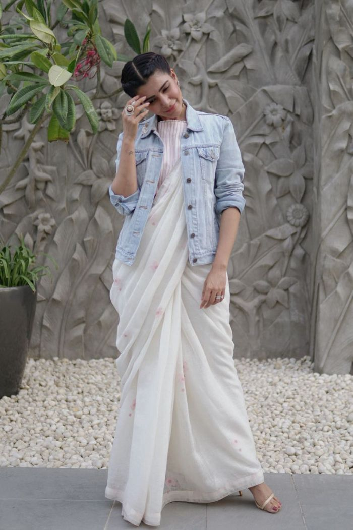 Different Saree Wearing Style (238)