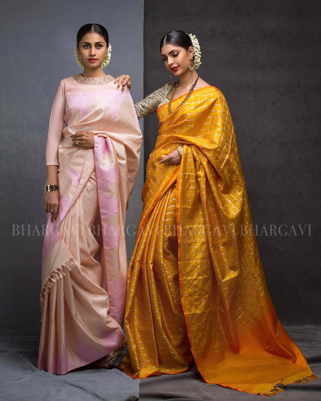 Different Saree Wearing Style (243)
