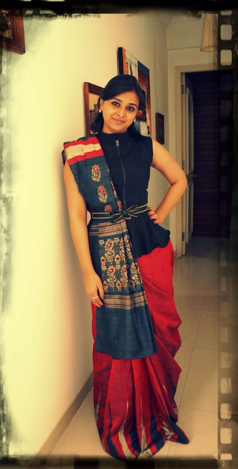 Different Saree Wearing Style (244)