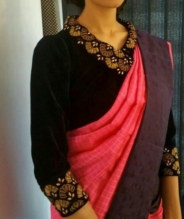 Different Saree Wearing Style (247)
