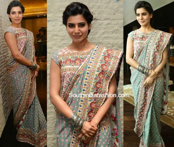 Different Saree Wearing Style (250)