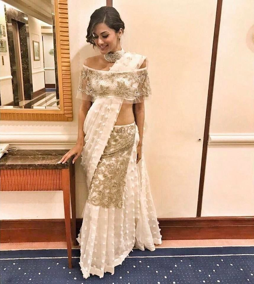Different Saree Wearing Style (256)