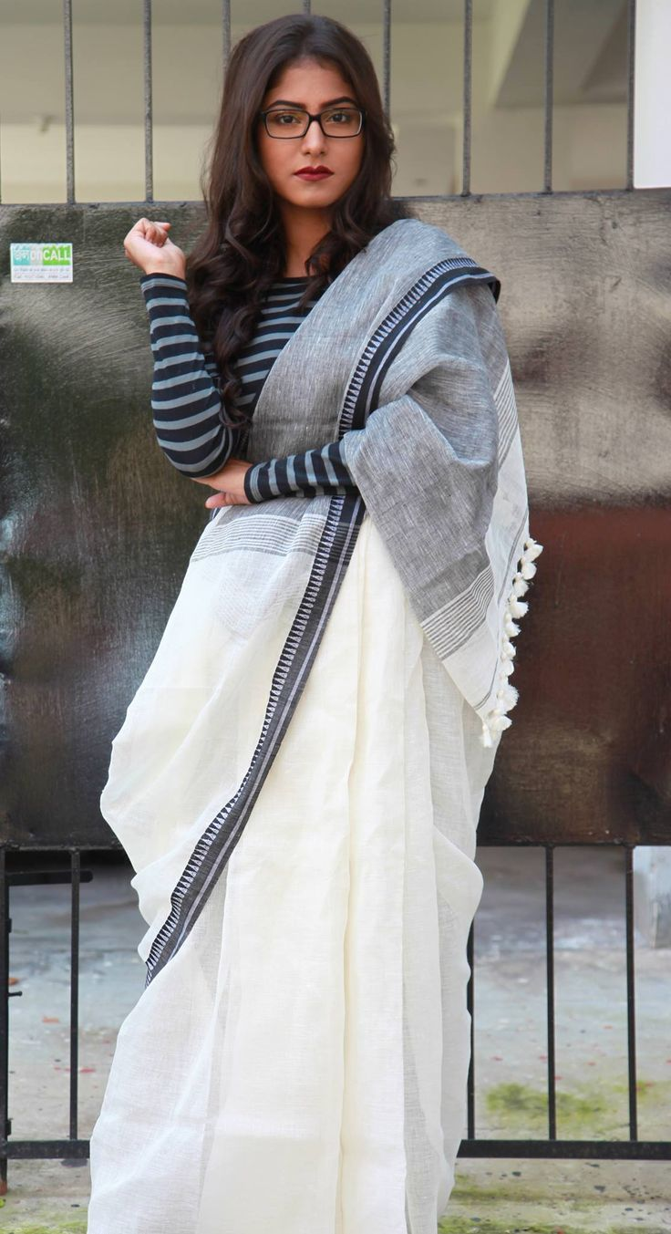 Different Saree Wearing Style (264)