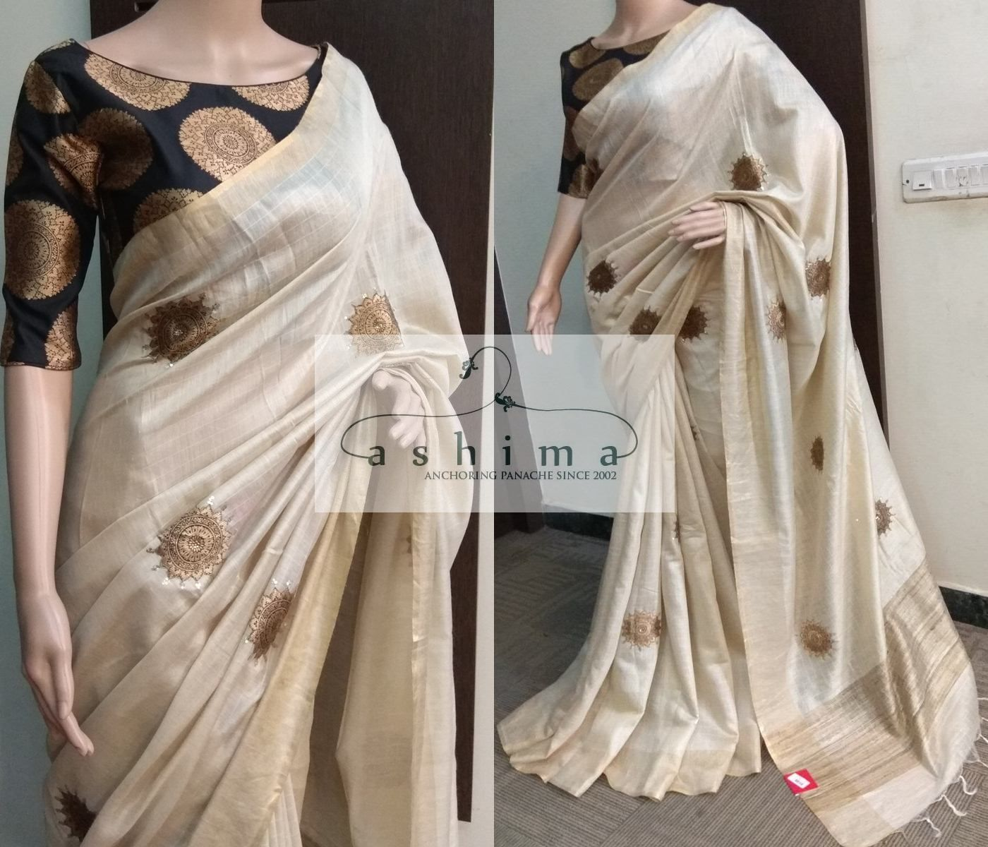 Different Saree Wearing Style (266)