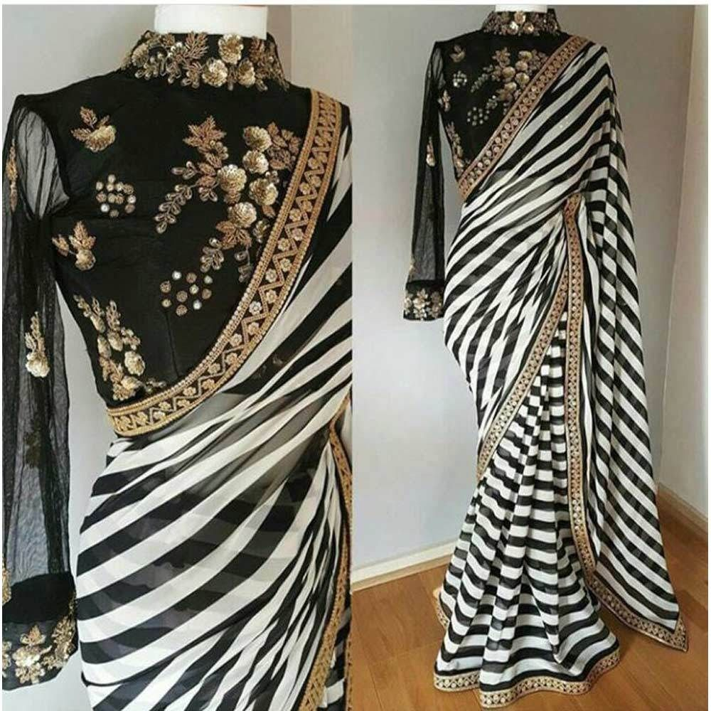 Different Saree Wearing Style (269)