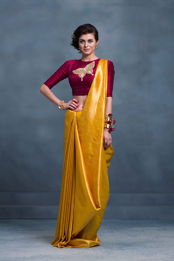 Different Saree Wearing Style (270)